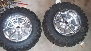 4 new atv tired with rims