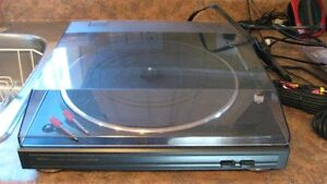 New Denon turntable with cables still in package