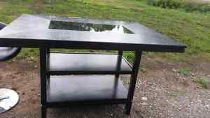 SOLD Bar height table