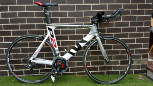 Cervelo p2 2014 58cm large time trial bicycle