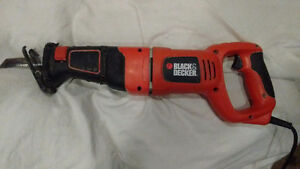 Black and Decker Reciprocating Saw (Sawzall)