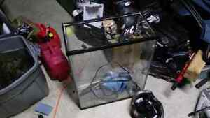 20 gallon tall tank and glass top