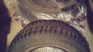 """""""Nordman 2"""" Winter Tires Set of Four 195/70R14 91T M+S"""