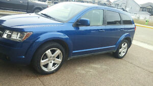 2009 Dodge Journey blue SUV, Crossover