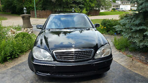 2001 Mercedes-Benz 500S-Class Sedan