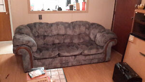 Blue Couch and Love Seat