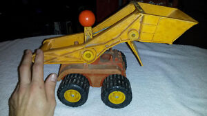 Vintage Fisher Price Construction Truck - Good Condition