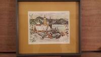 "Hornyansky Print ""St-Jean, Quebec"""