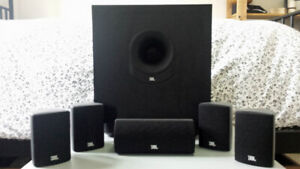 JBL Speakers and Subwoofer & Sony Home Surround Sound System