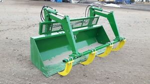 FOR SALE NEW BUCKETS AND GRAPPLES AND BALE SPEARS