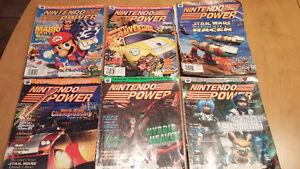 Revues Nintendo Power années 1999-2000 plus une de 1995