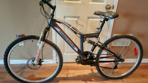 Supercycle Ascent Full Suspension Mountain Bike