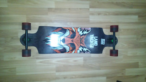 Landyachtz switch 35 longboard fox