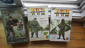 Lot figurine militaire wwii US allemand