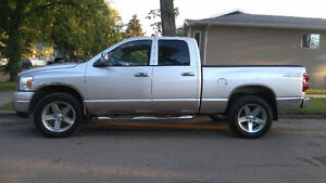 2007 Dodge Power Ram 1500 4x4 with free 6 months warranty