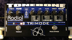 Radial Tonebone Tube Overdrive/ Distortion Pedal