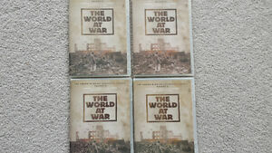 Four World of War CD's
