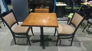 Chaises & Tables de restaurant