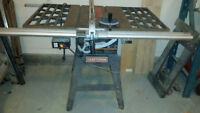 "10"" Craftsman table saw for sale"