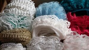 ASSORTED LACE TRIMS   -    REDUCED PRICE from $20.00 Belleville Belleville Area image 1