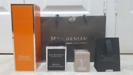 Max Benjamin Fragrance Diffuser and Candles - Brand New