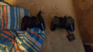 Ps2 with stuff