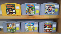 N64★Diddy Kong Racing★Mario Party 3☆Donkey Kong☆Pokemon Stadium