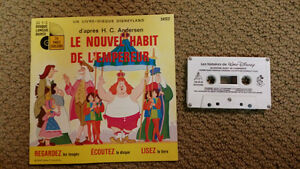 Le nouvel habit de l'empereur (with audio cassette)