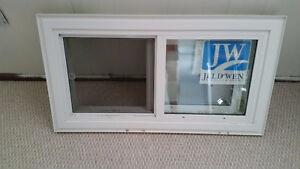 2 windows in the basement