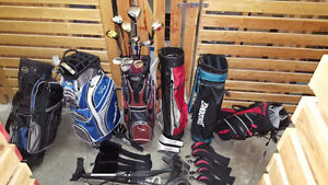 MEN'S GOLF BAGS, CLUBS,SHIRTS, PUTTERS, OGIO, SHOES - $5