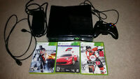 XBOX 360 250gb hard drive, Controller, Accessories and 25 Games