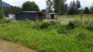 1.5 ACRES with mobile home set up for HORSES