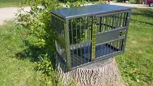 Custom built dog/animal crates