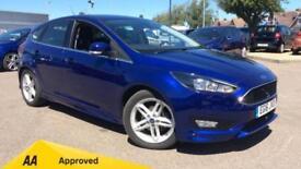 2016 Ford Focus 1.5 TDCi 120 Zetec S (Nav) 5dr Manual Diesel Hatchback