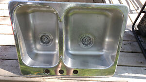 """27"""" stainless steel sink"""