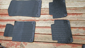 Bmw 3 series rubber floor mats tear from 2000 to 2005