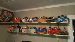 Nascar Dale Earnhardt and Dale Jr. Collection