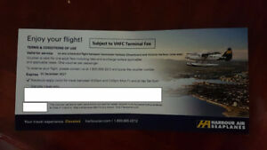 HARBOUR AIR TICKETS! - $75