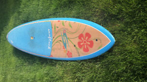 Surftech Discovery Stand Up Paddleboard Floral