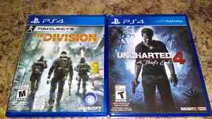 The Division, Uncharted 4,$40 each