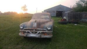 Barn Find 1951 Pontiac 4 door complete car