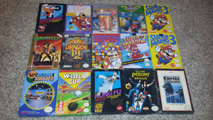 Selling a Bundle of Original Nintendo Games!
