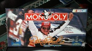 Collectors Dale Earnhardt monopoly game
