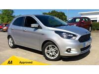 2017 Ford KA Plus 1.2 85 Zetec 5dr Manual Petrol Hatchback