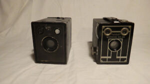 Antique Box Cameras  2