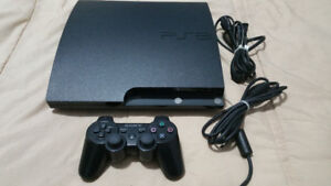 PS3 Slim 120GB For Parts/Repair
