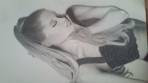 ARIANA GRANDE- Sketch for sale