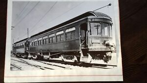 Vintage black and white Trolley photographs unusual sizes