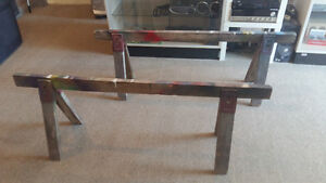 Free Saw Horses (Four Available)