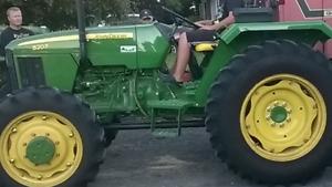 Mint John Deere tractor